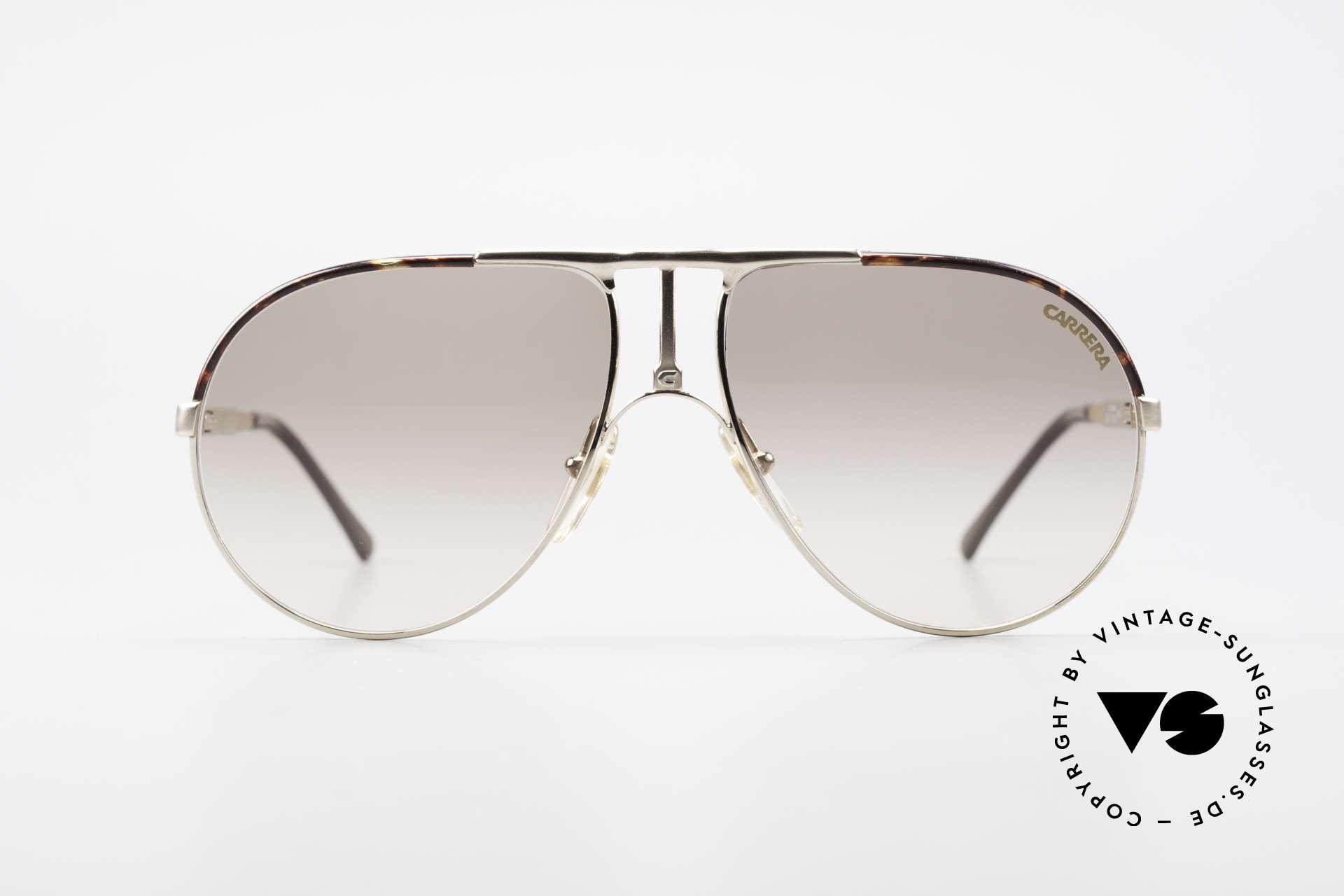 Carrera 5306 Brad Pitt Vintage Sunglasses, adjustable temple-length thanks to Carrera Vario system, Made for Men and Women