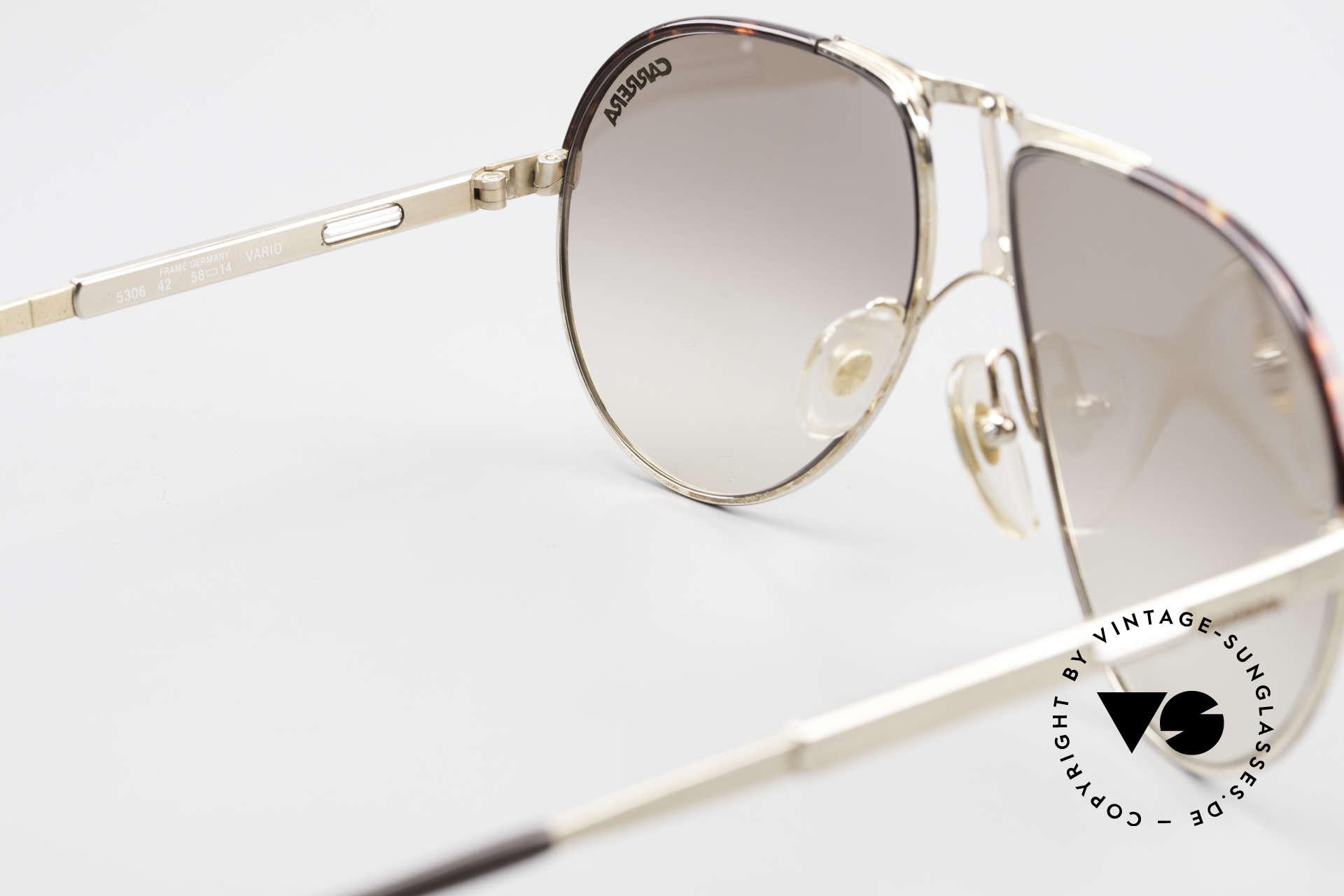 Carrera 5306 Brad Pitt Vintage Sunglasses, NO retro sunglasses, but a rare (30 years old) ORIGINAL, Made for Men and Women