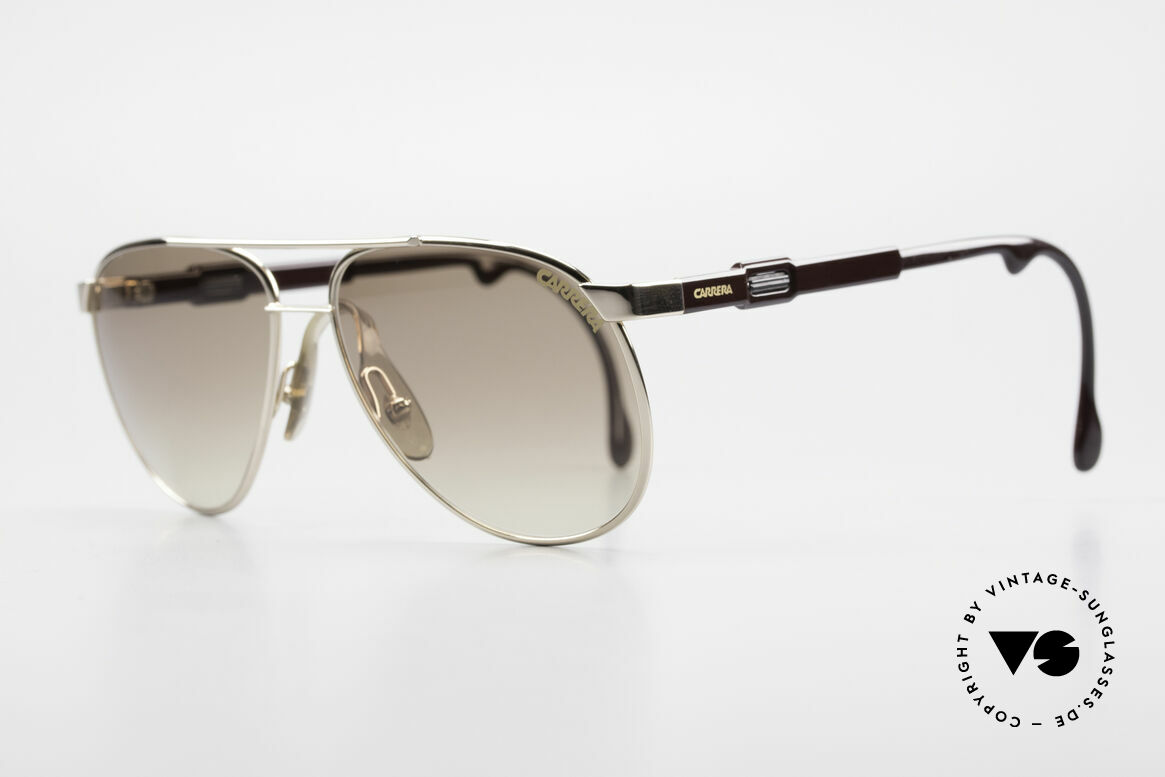 Carrera 5348 80's Vario Sports Sunglasses, variable temple length, due to Carrera Vario System, Made for Men and Women