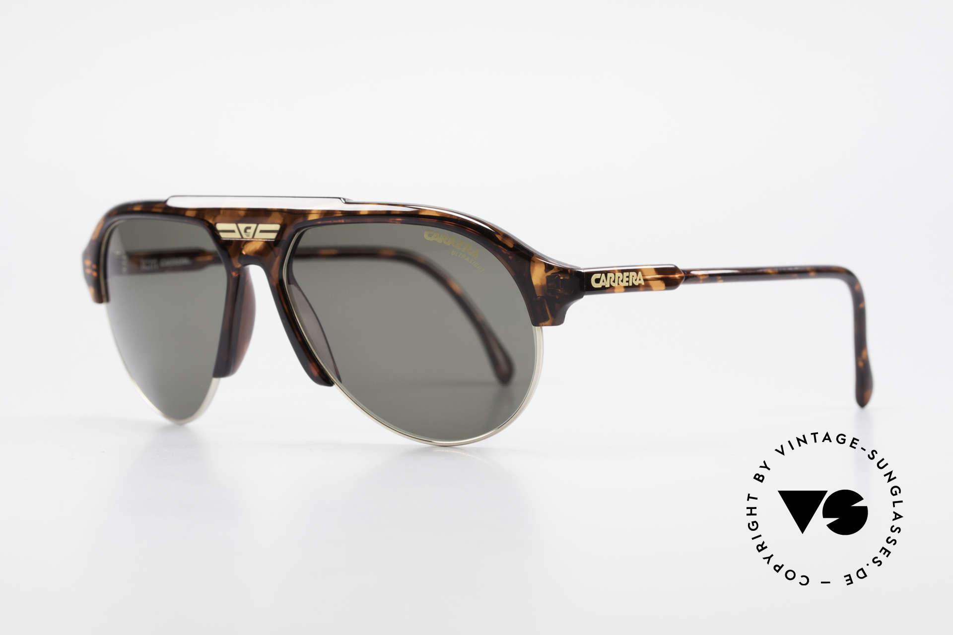 Carrera 5433 Aviator Sunglasses Men 90's, high-end Carrera Ultrasight lenses: 100% UV protection, Made for Men