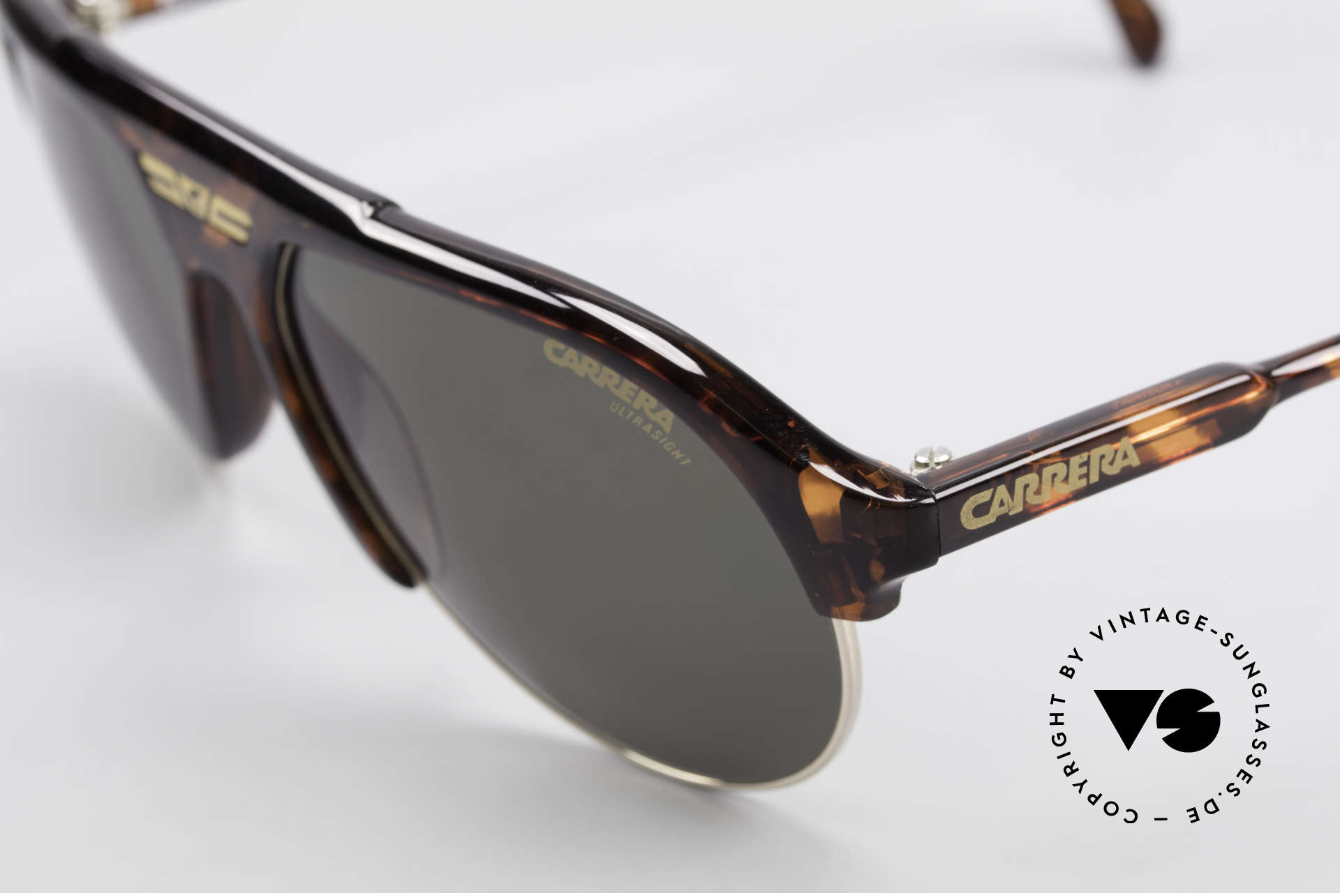 Carrera 5433 Aviator Sunglasses Men 90's, new old stock (like all our vintage Carrera sunglasses), Made for Men