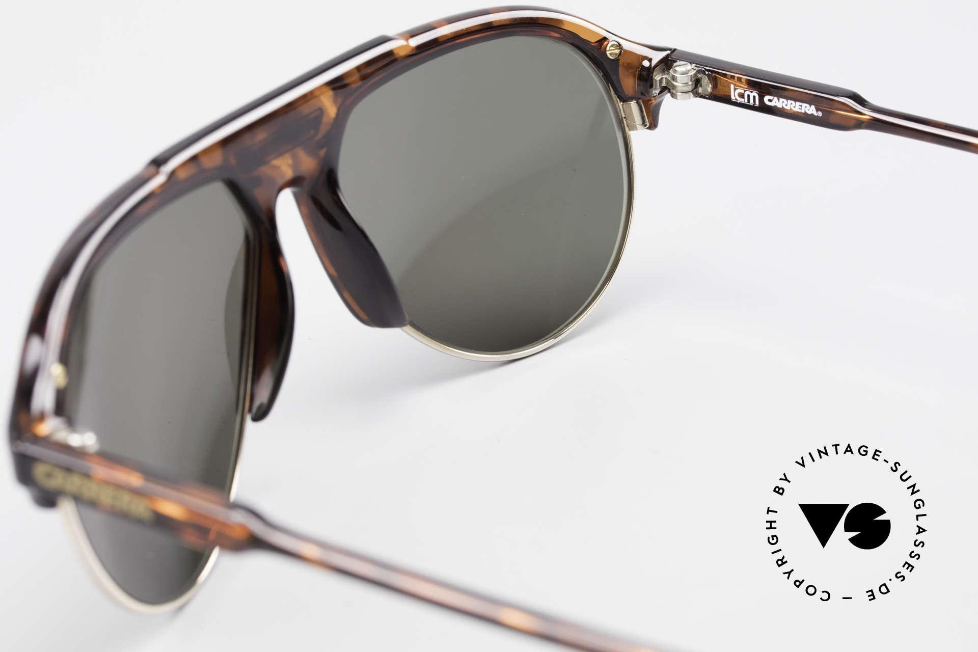 Carrera 5433 Aviator Sunglasses Men 90's, sun lenses could be replaced with prescription lenses, Made for Men