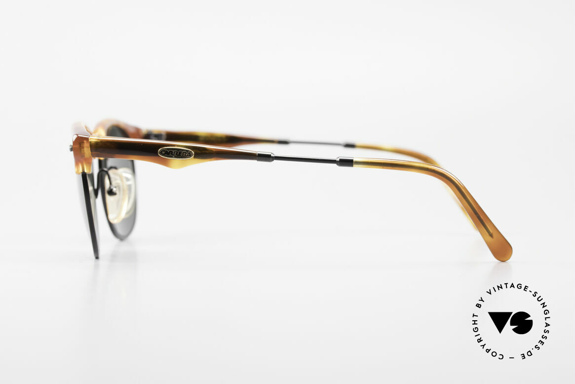 Carrera 5624 Clubmaster Shape Sunglasses, unworn (like all our rare vintage CARRERA sunglasses), Made for Men