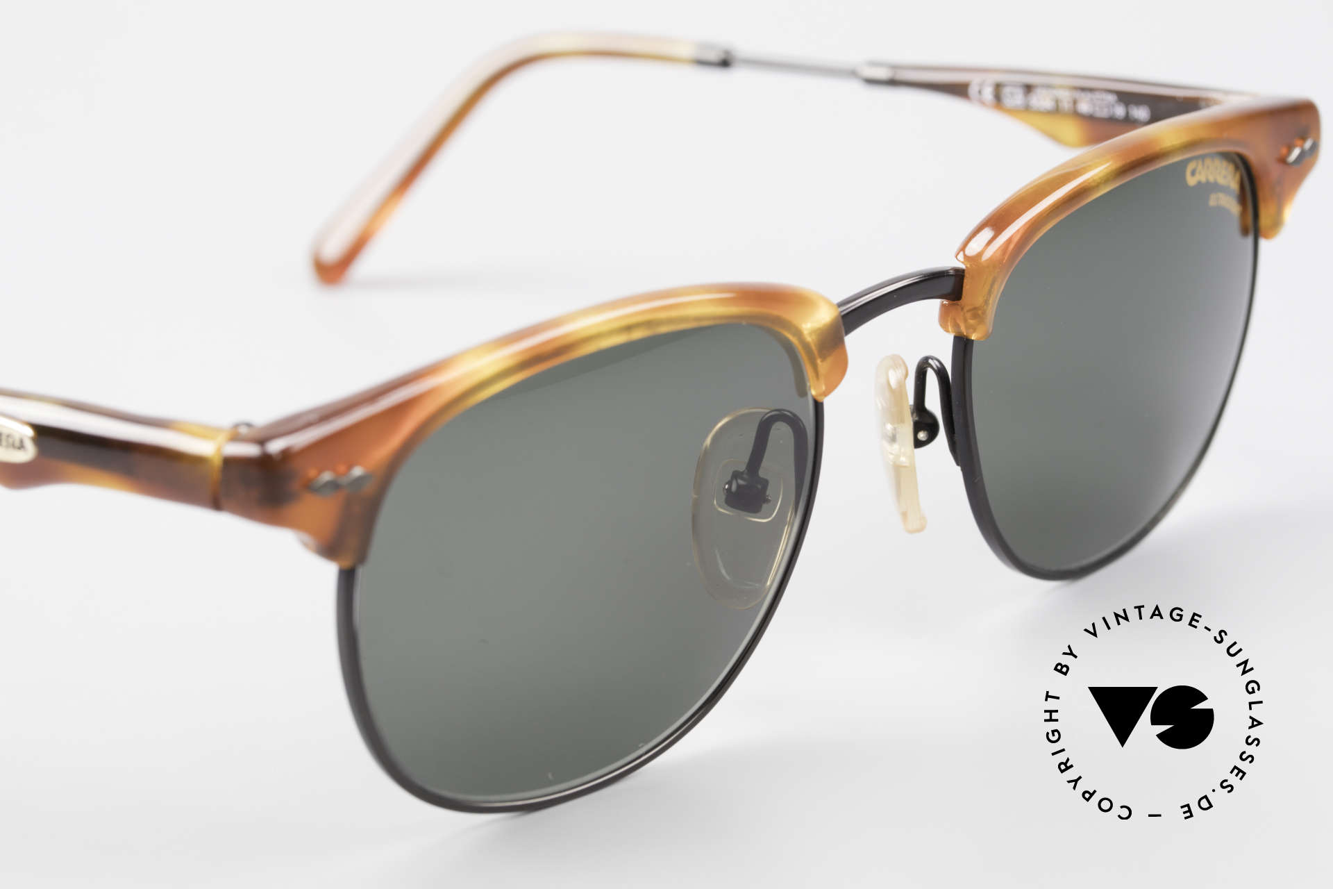 Carrera 5624 Clubmaster Shape Sunglasses, with ULTRASIGHT sun lenses (for 100% UV Protection), Made for Men