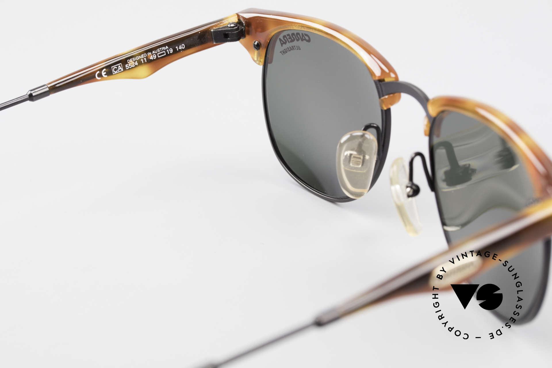 Carrera 5624 Clubmaster Shape Sunglasses, Size: small, Made for Men