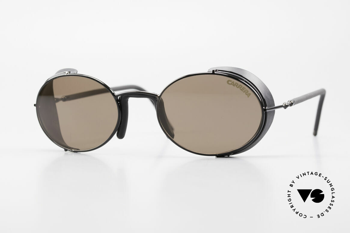 Carrera 5580 Sportsglasses Steampunk 90's, striking vintage Carrera (sports) sunglasses of the 90's, Made for Men and Women