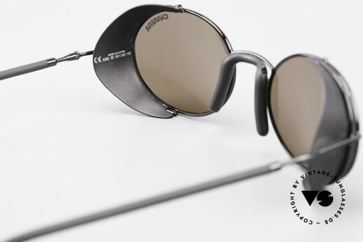 Carrera 5580 Sportsglasses Steampunk 90's, reduced to 269,- Euro (small scratch on the right lens), Made for Men and Women
