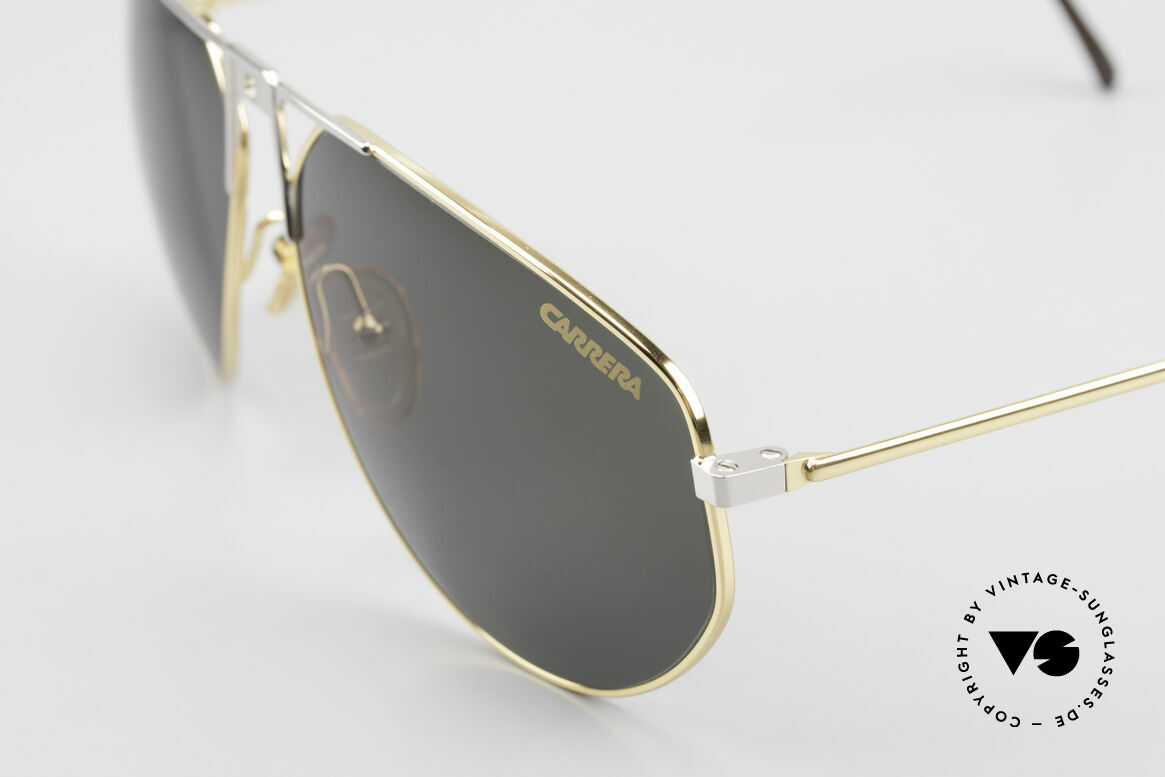 Carrera 5410 90's Sport Performance Shades, classic, solid green sun lenses, 100% UV protection, Made for Men