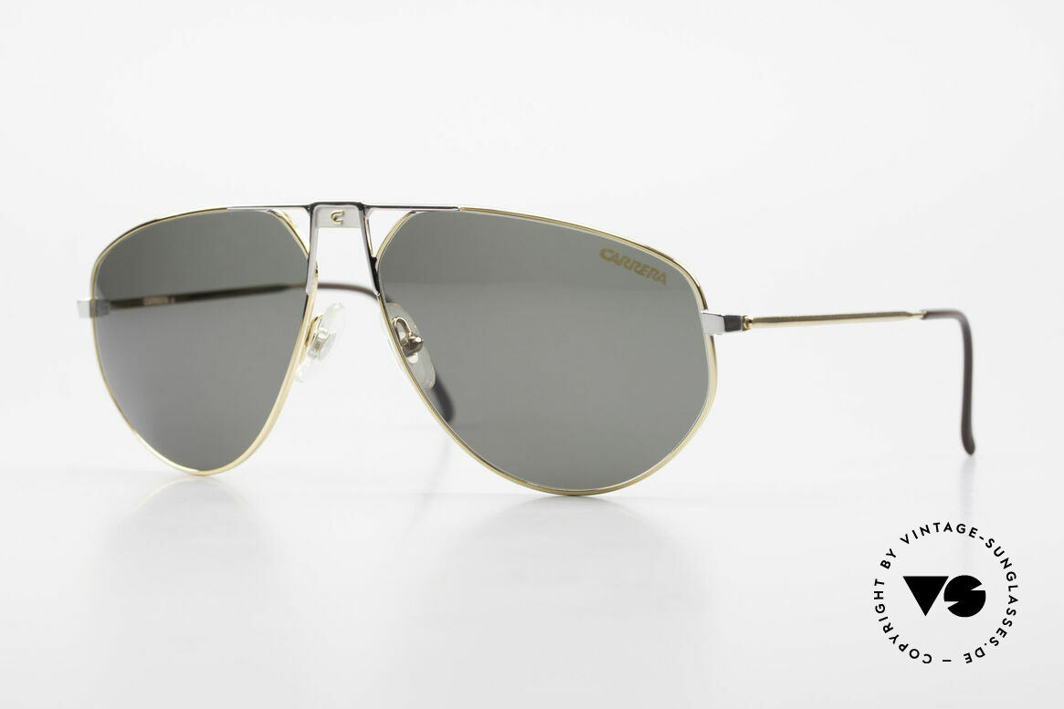 Carrera 5410 90's Sport Performance Shades, very masculine sunglasses by CARRERA from 1990, Made for Men
