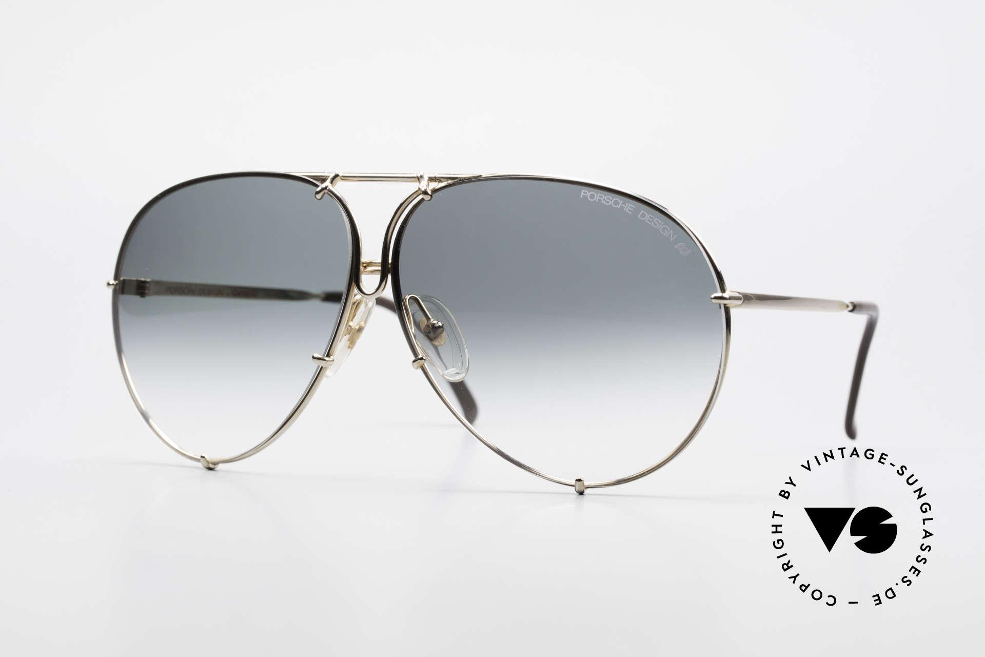 Porsche 5623 Black Mass Movie Sunglasses, vintage Porsche Design by Carrera shades from 1987, Made for Men and Women