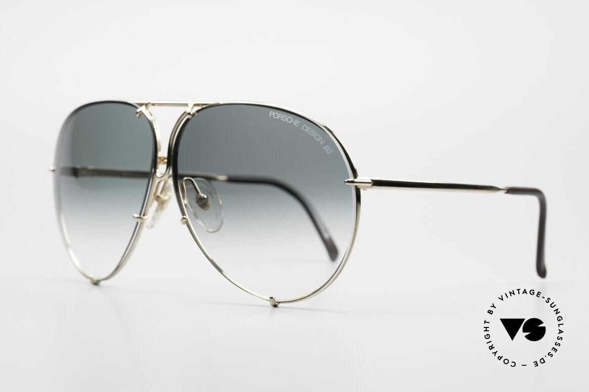 Porsche 5623 Black Mass Movie Sunglasses, the legend with interchangeable lenses; true vintage, Made for Men and Women