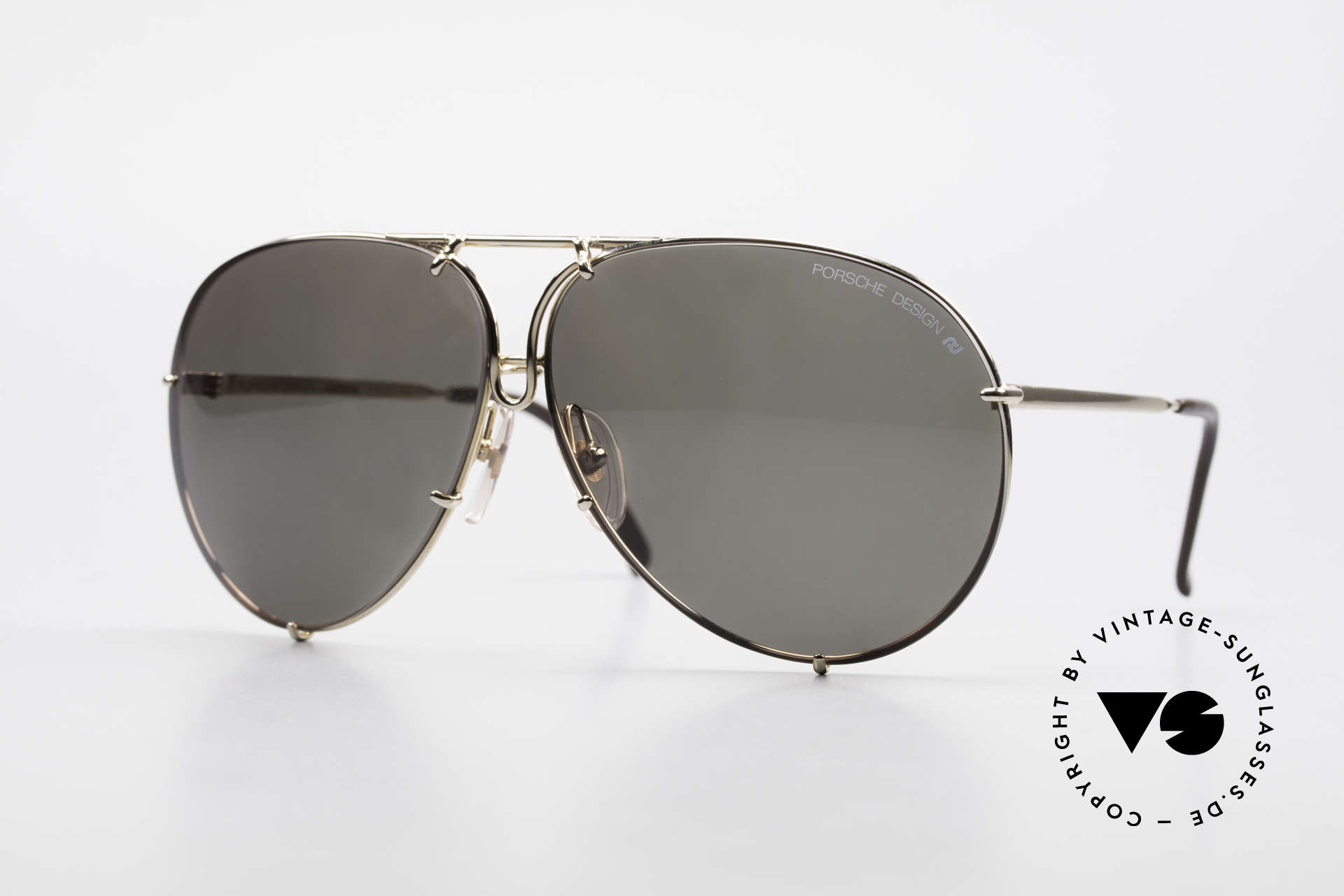 Porsche 5623 80's Interchangeable Lenses, NO RETRO SUNGLASSES, but a 30 years old original, Made for Men and Women