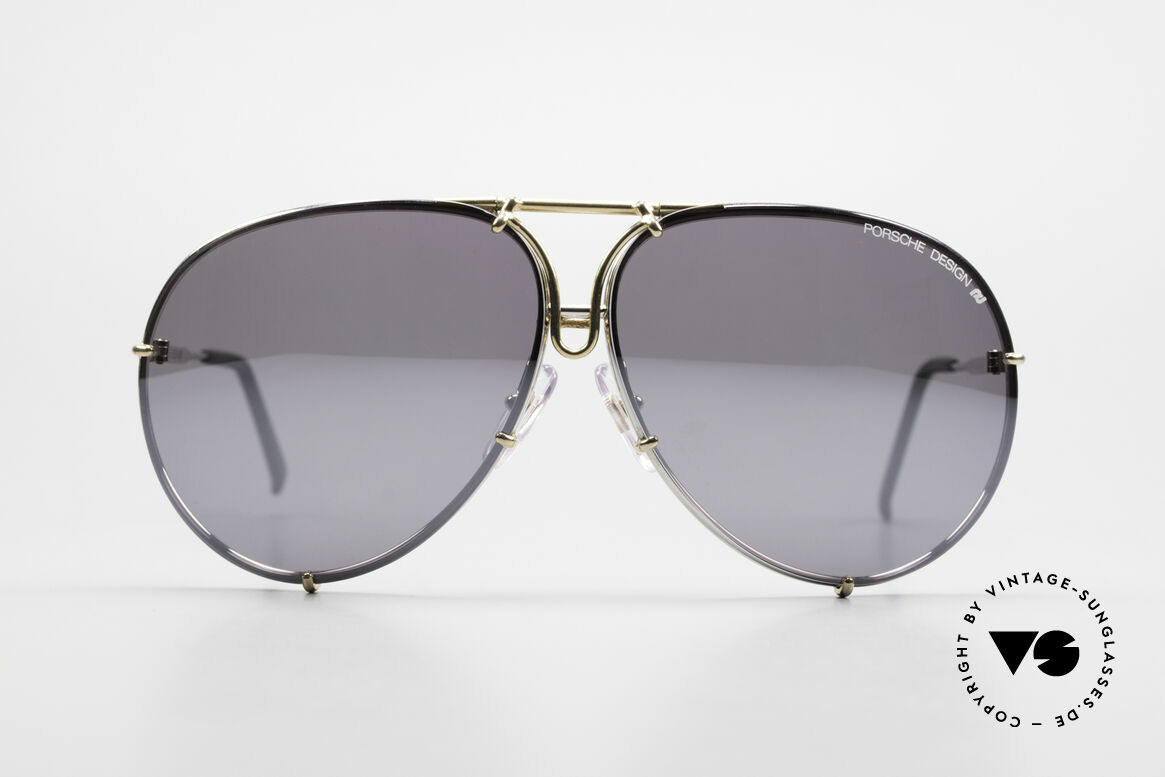 Porsche 5623 Silver Mirrored Sun Lenses, but they look amazing in real (100% UV protection), Made for Men and Women