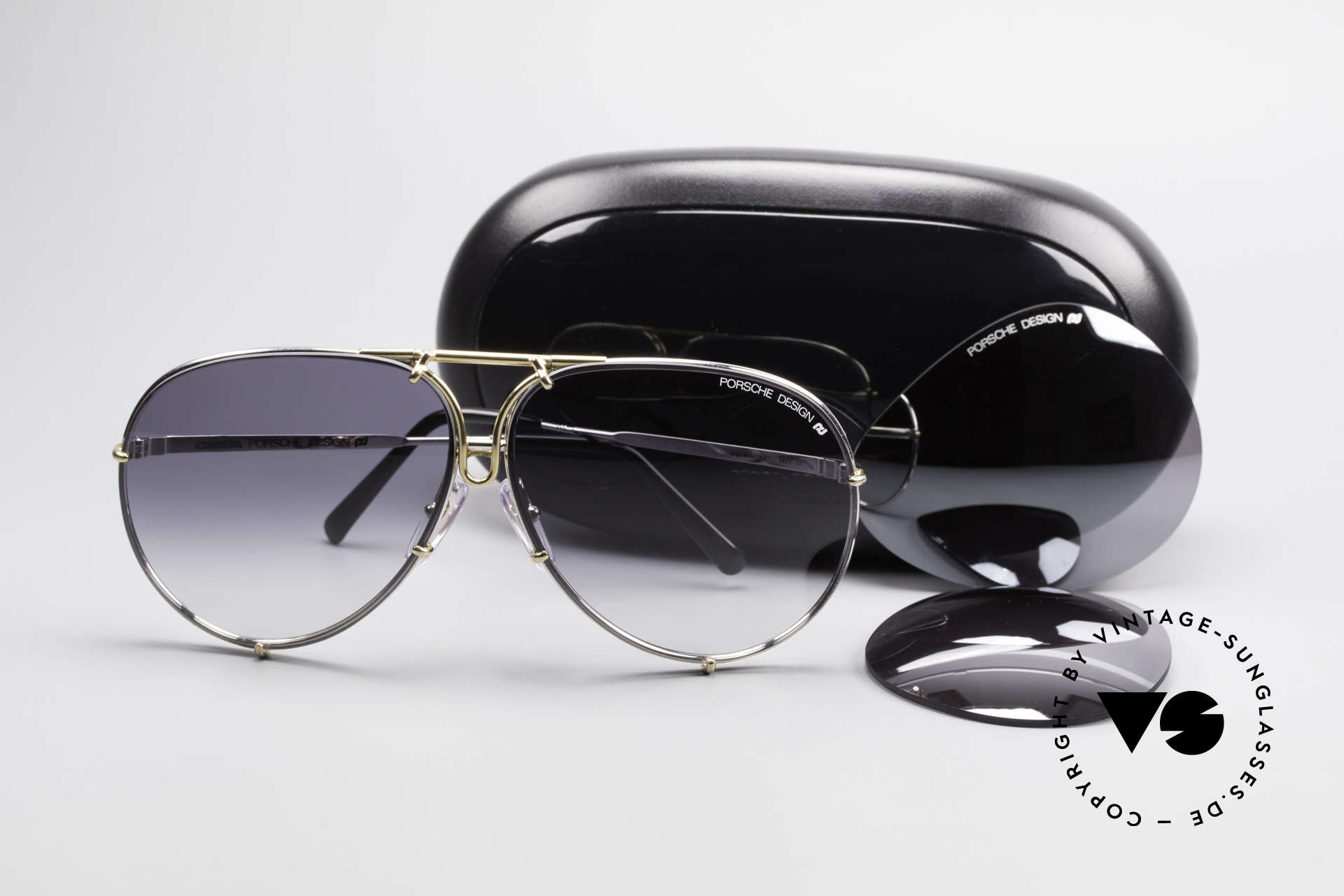 Porsche 5623 Silver Mirrored Sun Lenses, NO RETRO SUNGLASSES, but a 30 years old original, Made for Men and Women