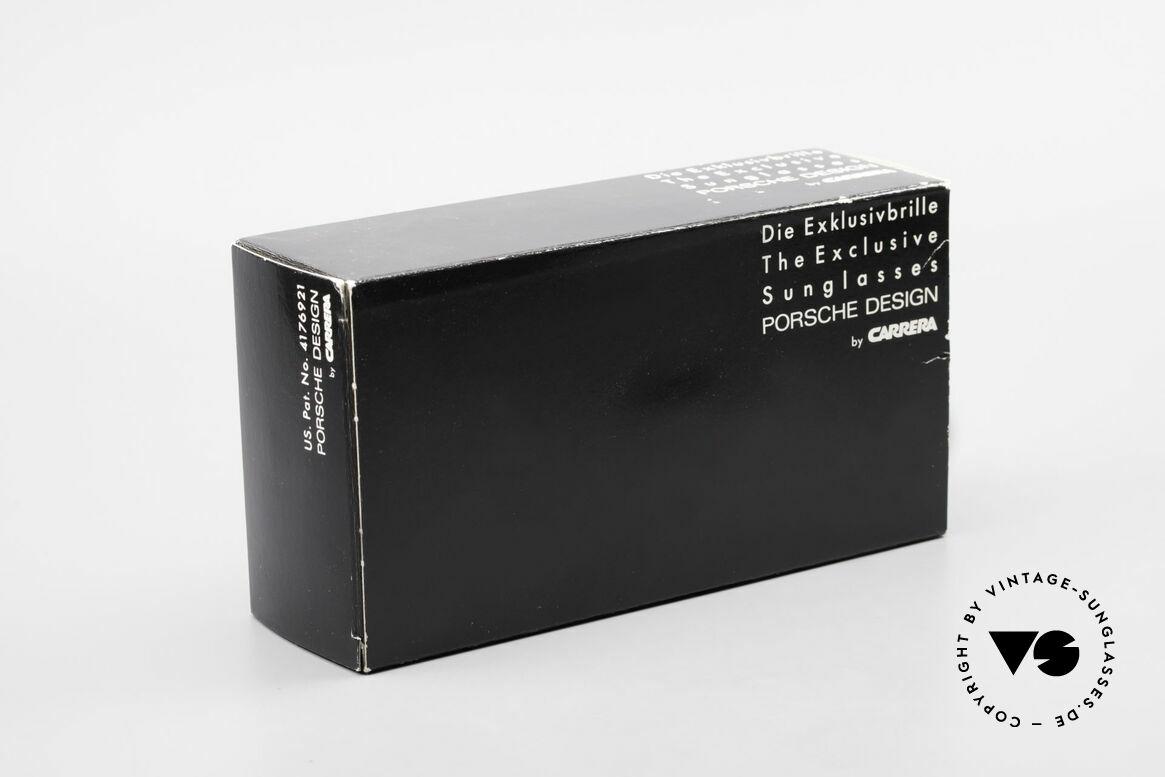 Porsche 5623 Silver Mirrored Sun Lenses, model 5623 = 80's SMALL size (MEDIUM size, today), Made for Men and Women