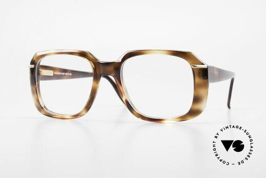 Silhouette M2062 80's Old School Eyeglasses Details