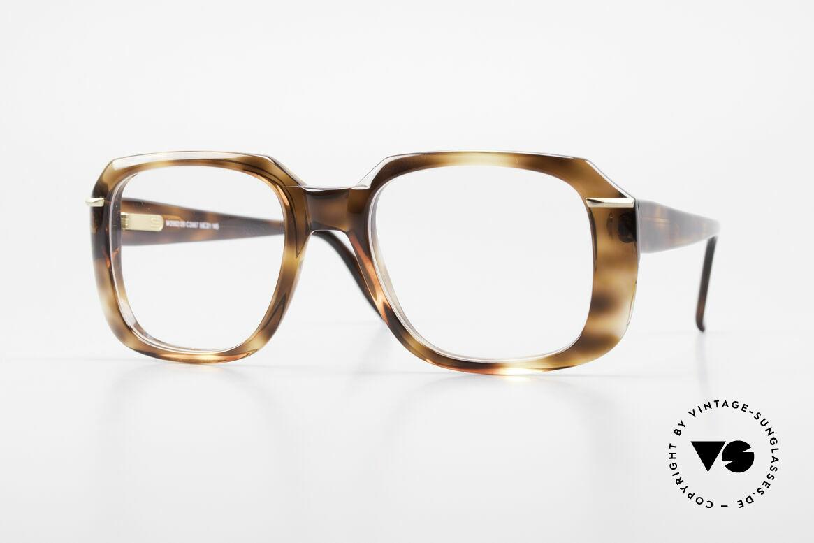 Silhouette M2062 80's Old School Eyeglasses, massive 'Old School' Silhouette vintage glasses, Made for Men