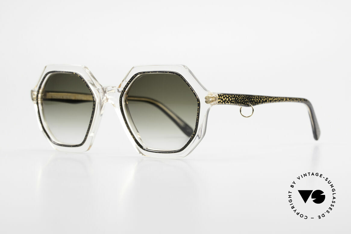 Sonia Rykiel SR46 727 70's Octagonal Sunglasses, perfect to create your individual outfit - just UNIQUE!, Made for Women