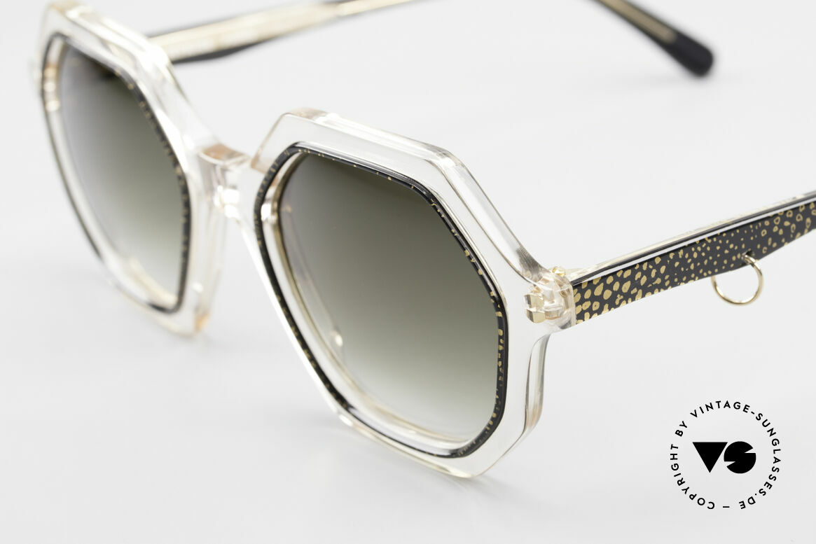 Sonia Rykiel SR46 727 70's Octagonal Sunglasses, unworn designer piece (like all our vintage sunglasses), Made for Women