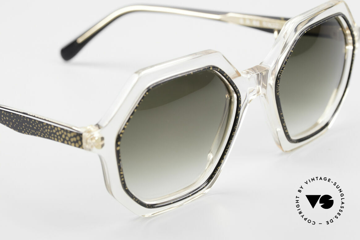 Sonia Rykiel SR46 727 70's Octagonal Sunglasses, NO RETRO fashion, but a genuine 40 years old unicum, Made for Women