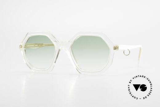 Sonia Rykiel SR46 444 Octagonal Sunglasses 1970's Details