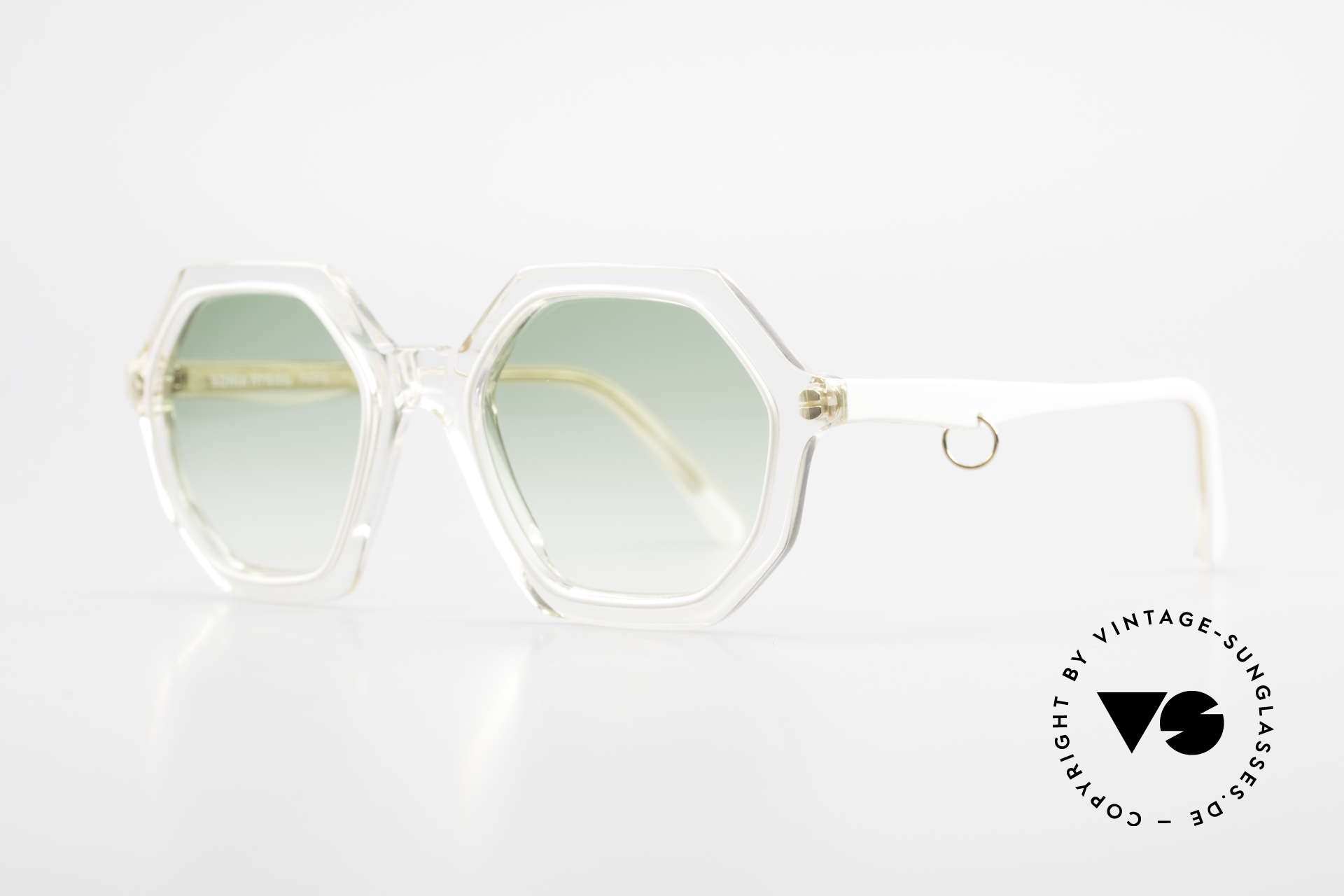 Sonia Rykiel SR46 444 Octagonal Sunglasses 1970's, perfect to create your individual outfit - just UNIQUE!, Made for Women