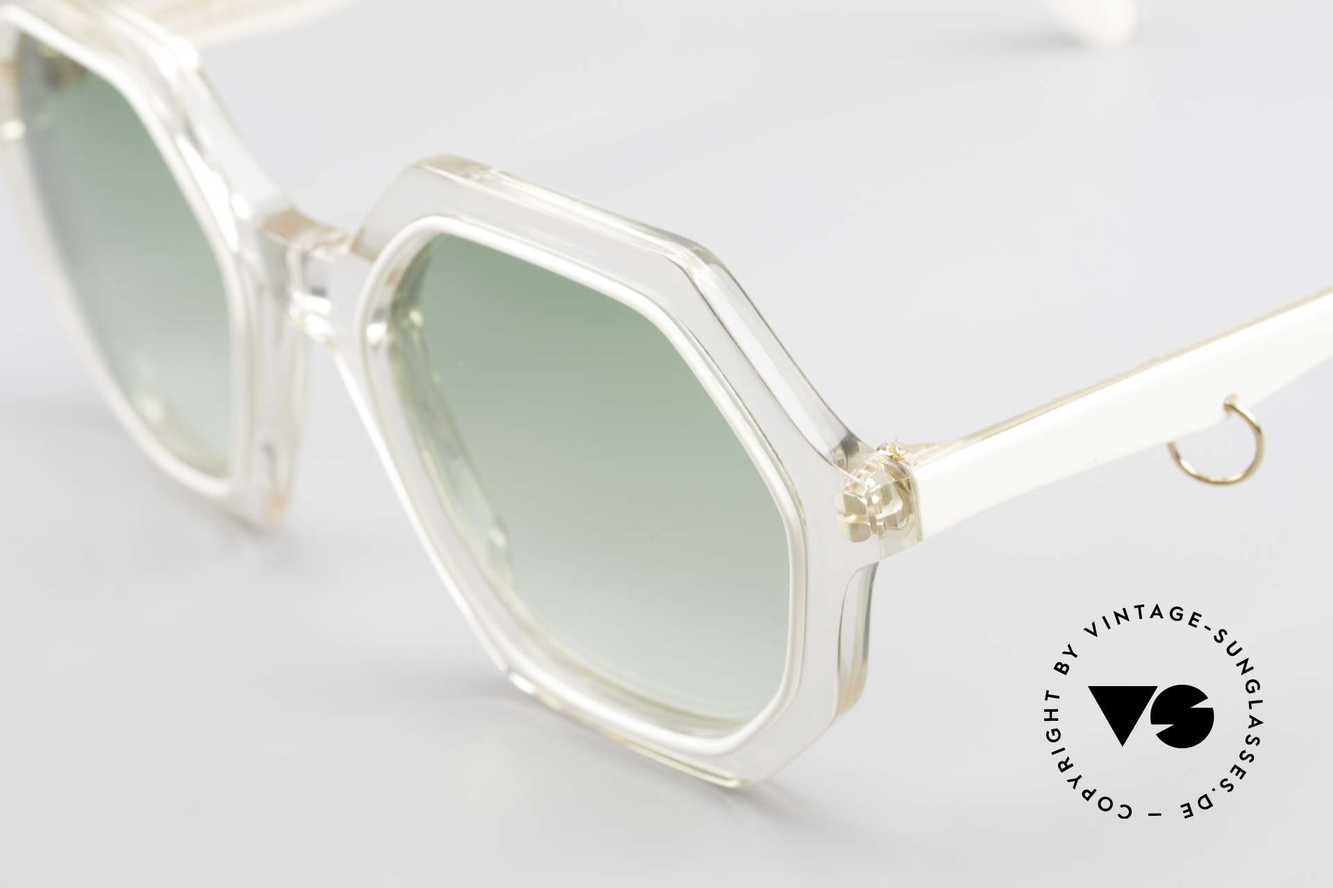 Sonia Rykiel SR46 444 Octagonal Sunglasses 1970's, unworn designer piece (like all our vintage sunglasses), Made for Women