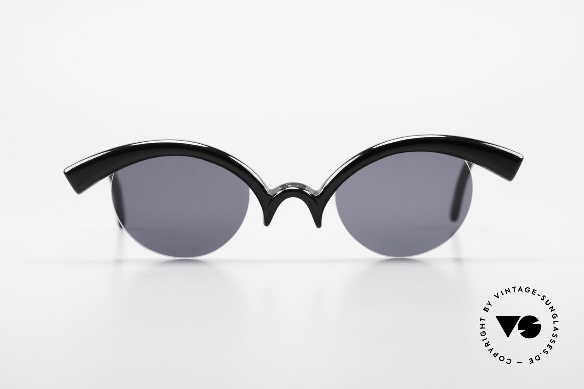 Design Maske Berlin - Ethno Artful Vintage Sunglasses 90s, imaginative designs of the 90's, made in Kreuzberg, Made for Women