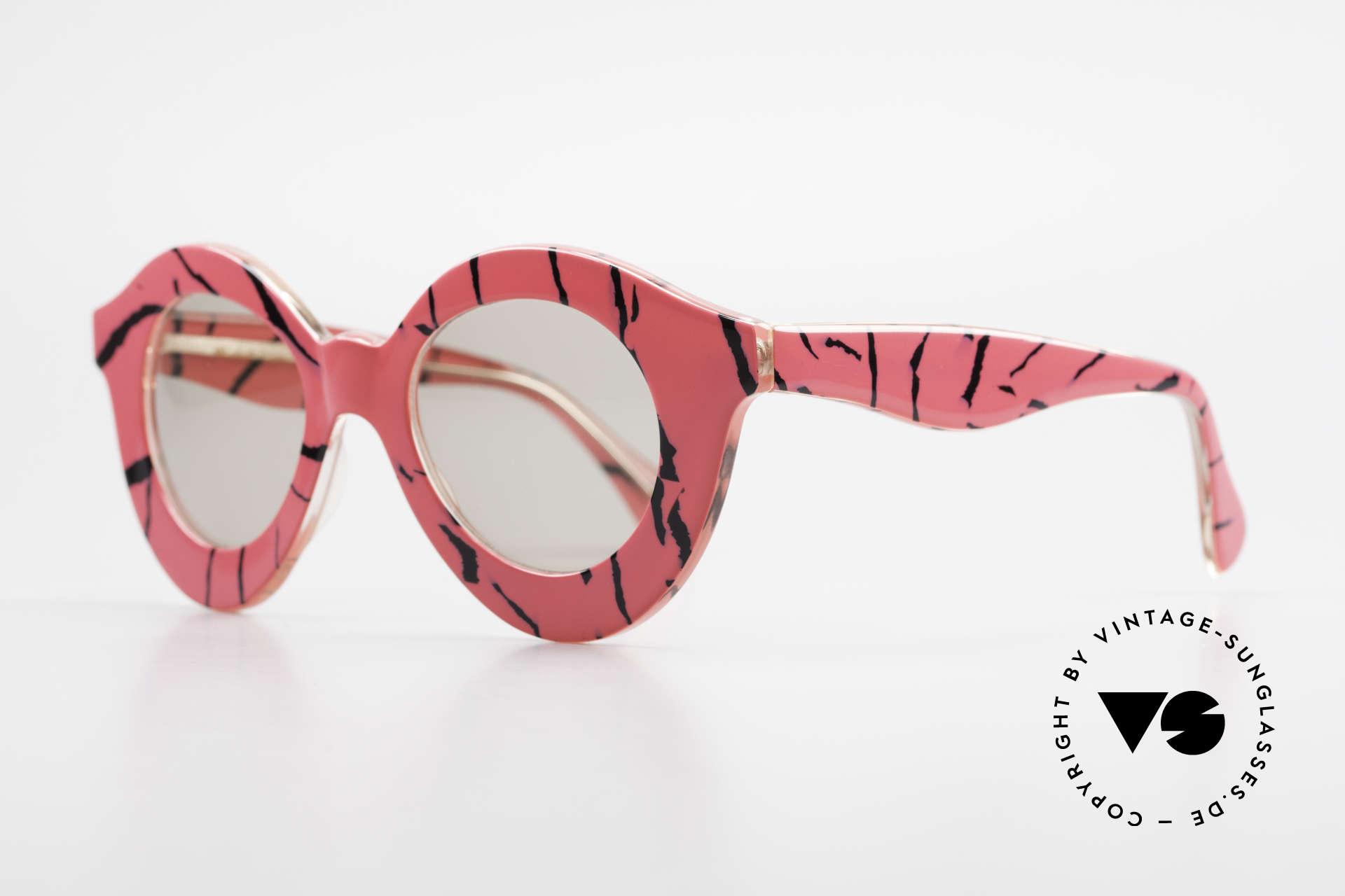 Michèle Lamy - Rita True Connoisseur Sunglasses, handmade in the 1980's in Morez (Jura Region), Made for Women