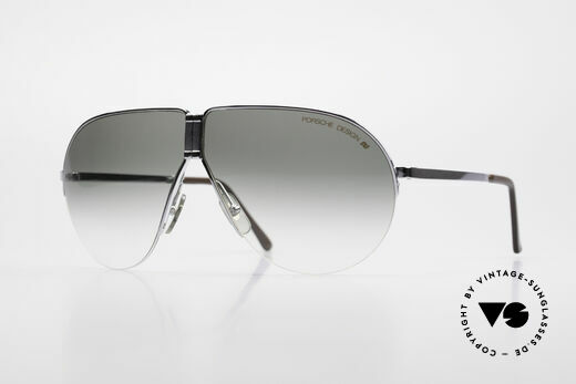 Porsche 5628 80's Folding Aviator Sunglasses Details