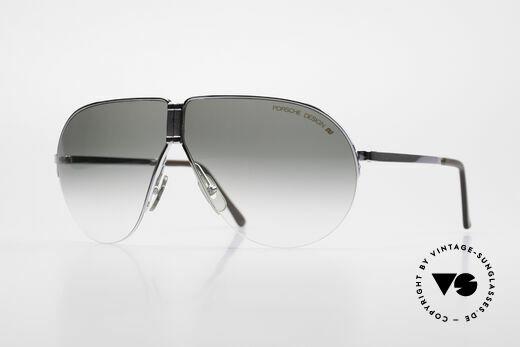 Porsche 5628 80's Folding Aviator Sunglasses Details
