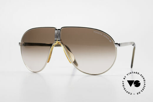 Porsche 5622 Rare 80's Folding Sunglasses Details