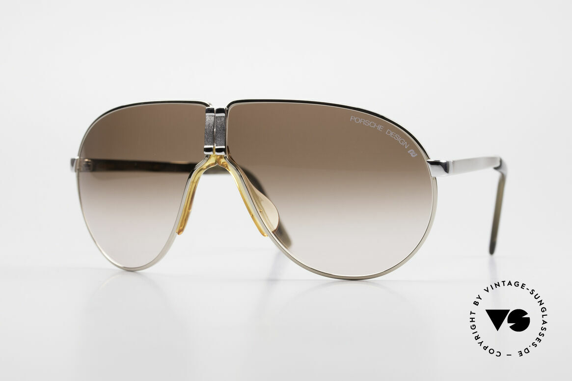 Porsche 5622 Rare 80's Folding Sunglasses, practical folding model by Porsche Carrera from the 80's, Made for Men