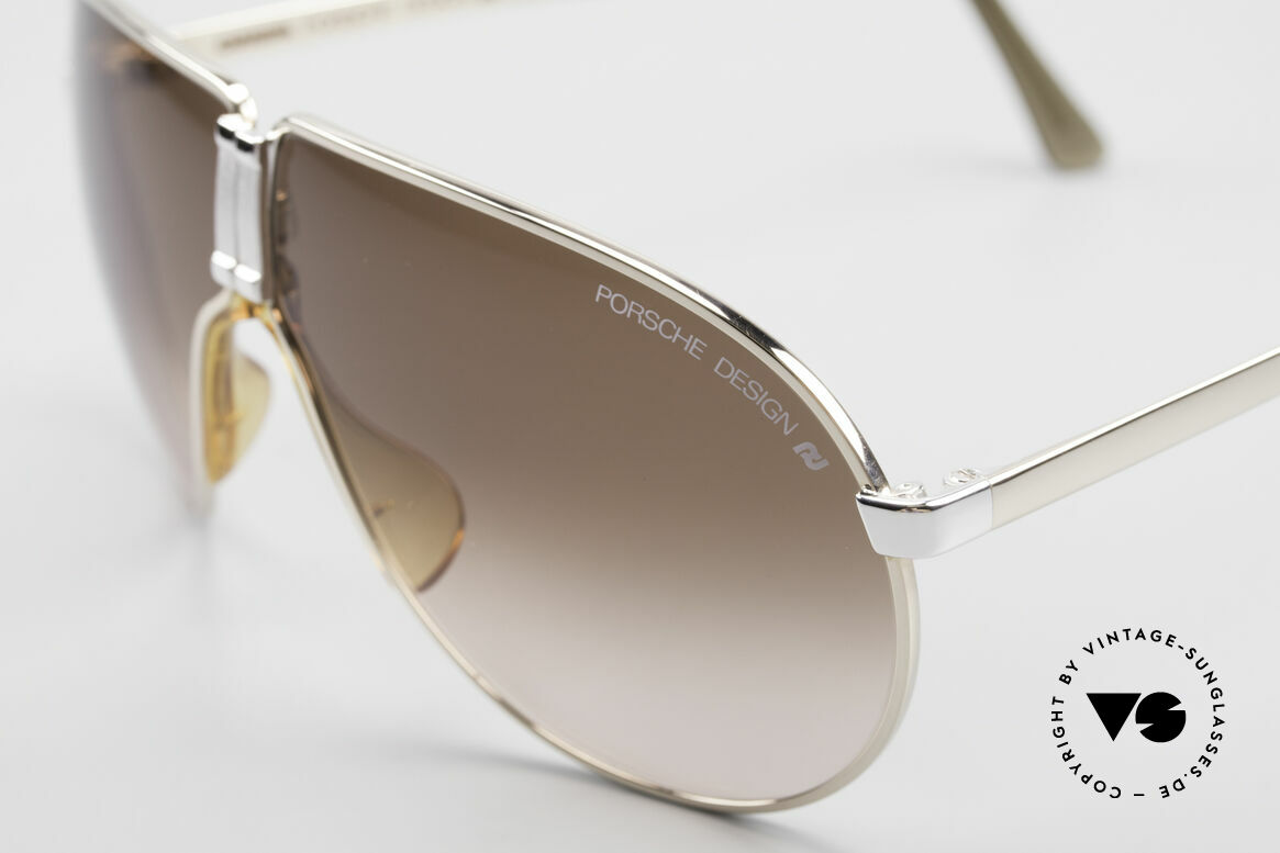 Porsche 5622 Rare 80's Folding Sunglasses, real LUXURY shades in top-notch quality (100% UV prot.), Made for Men