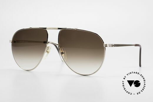 Christian Dior 2248 XL 80's Monsieur Sunglasses Details