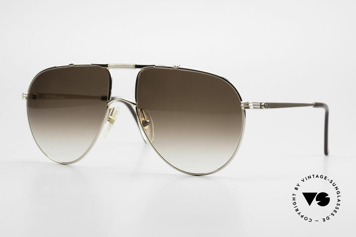 """Christian Dior 2248 XL 80's Monsieur Sunglasses, noble shades of the """"Monsieur""""-series by Christian Dior, Made for Men"""