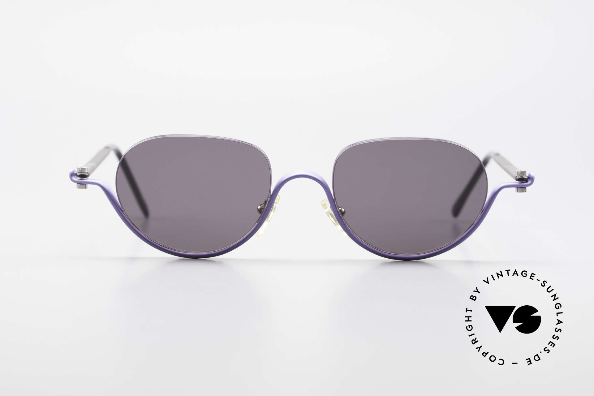 ProDesign No8 Gail Spence Design Eyeglasses, true vintage aluminium frame - Gail Spence Design, Made for Women