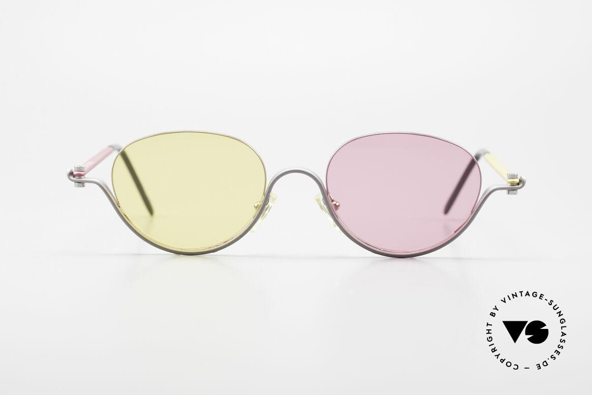 ProDesign No9 Basic The Hunt For Red October, true vintage aluminium frame - Gail Spence Design, Made for Women