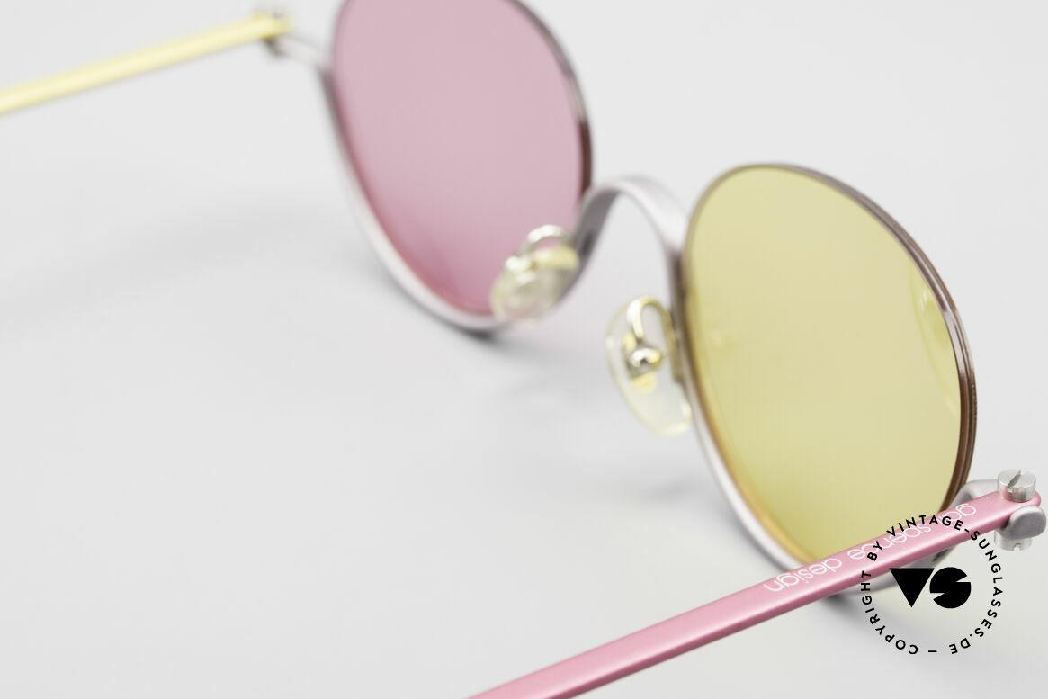 ProDesign No9 Basic The Hunt For Red October, ultra RARE designer eyeglasses from the mid 1990's, Made for Women