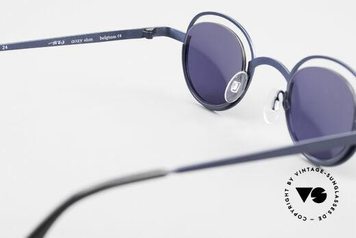 Theo Belgium Dozy Slim Crazy 90's Unisex Sunglasses, NO RETRO frame; but a rare 20 years old ORIGINAL, Made for Men and Women