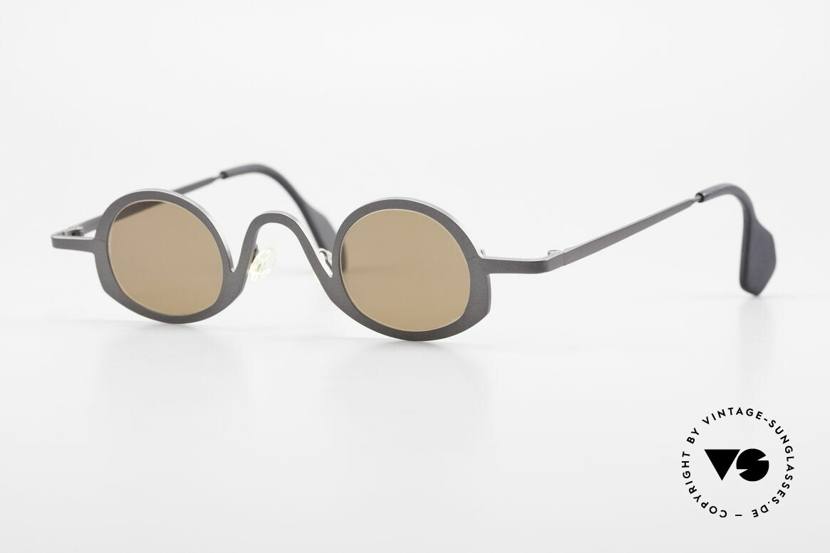 Theo Belgium Circle Avant-Garde Sunglasses 90's, Theo Belgium = the most self-willed brand in the world, Made for Men and Women