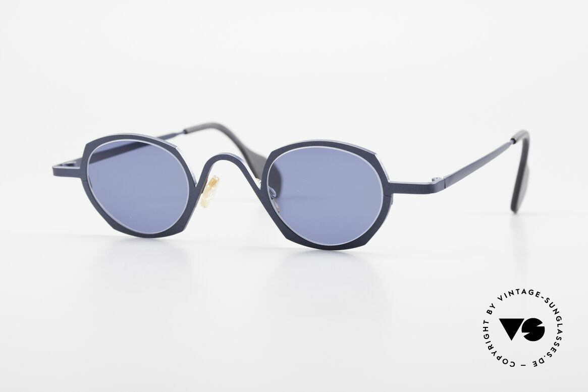 Theo Belgium Flower Round 90s Designer Sunglasses, Theo Belgium = the most self-willed brand in the world, Made for Men and Women