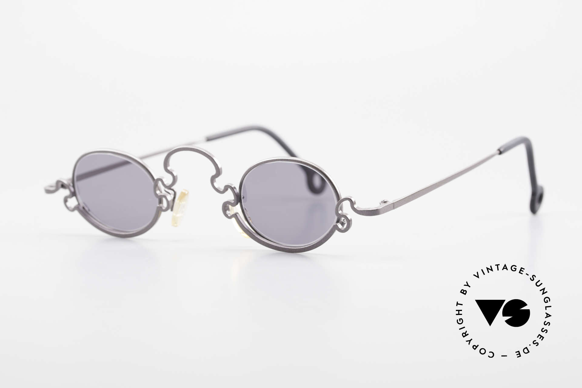 Theo Belgium Puzzle Spaghetti Sunglasses Ladies, made for the avant-garde, individualists; trend-setters, Made for Women