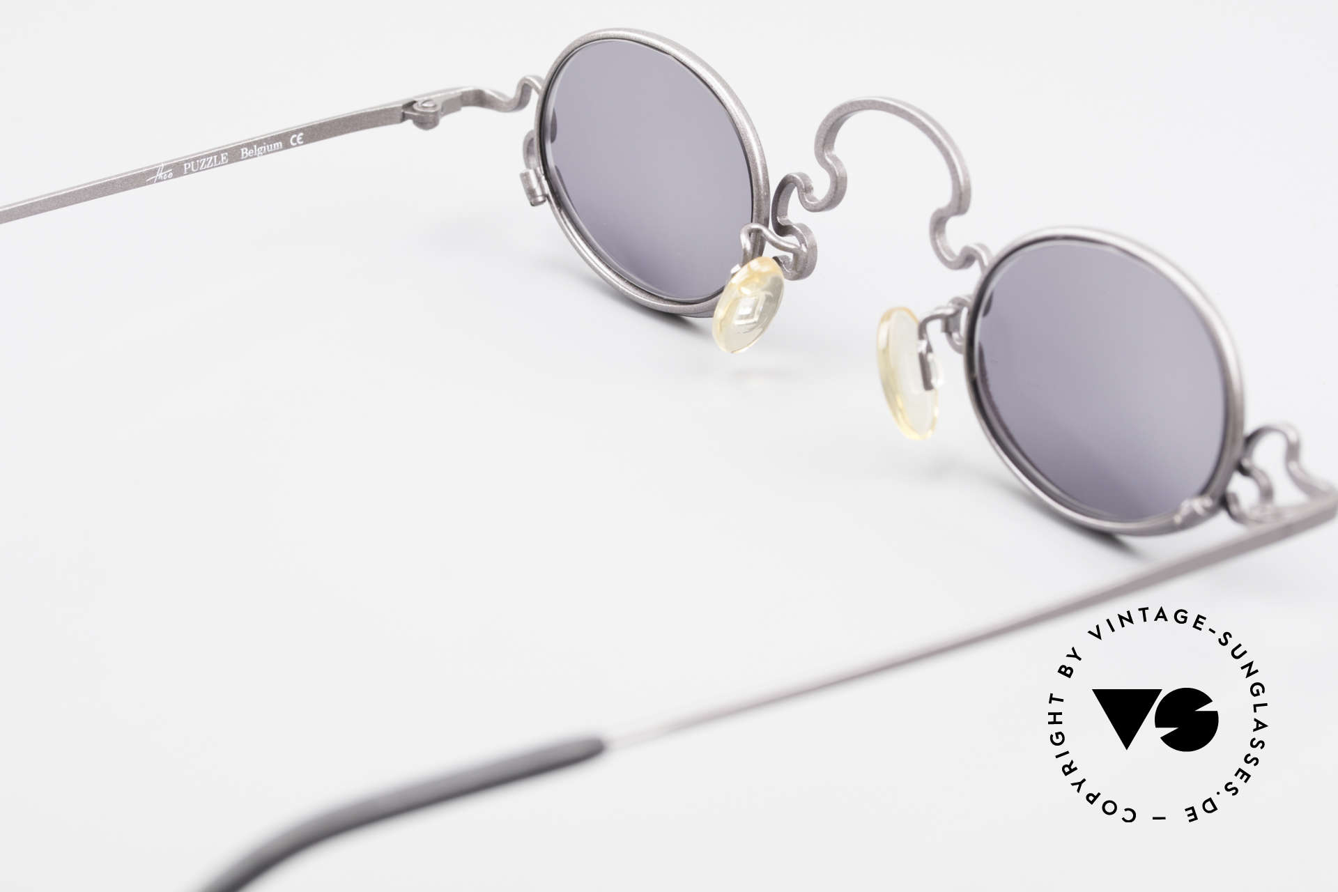 Theo Belgium Puzzle Spaghetti Sunglasses Ladies, so to speak: vintage sunglasses with representativeness, Made for Women