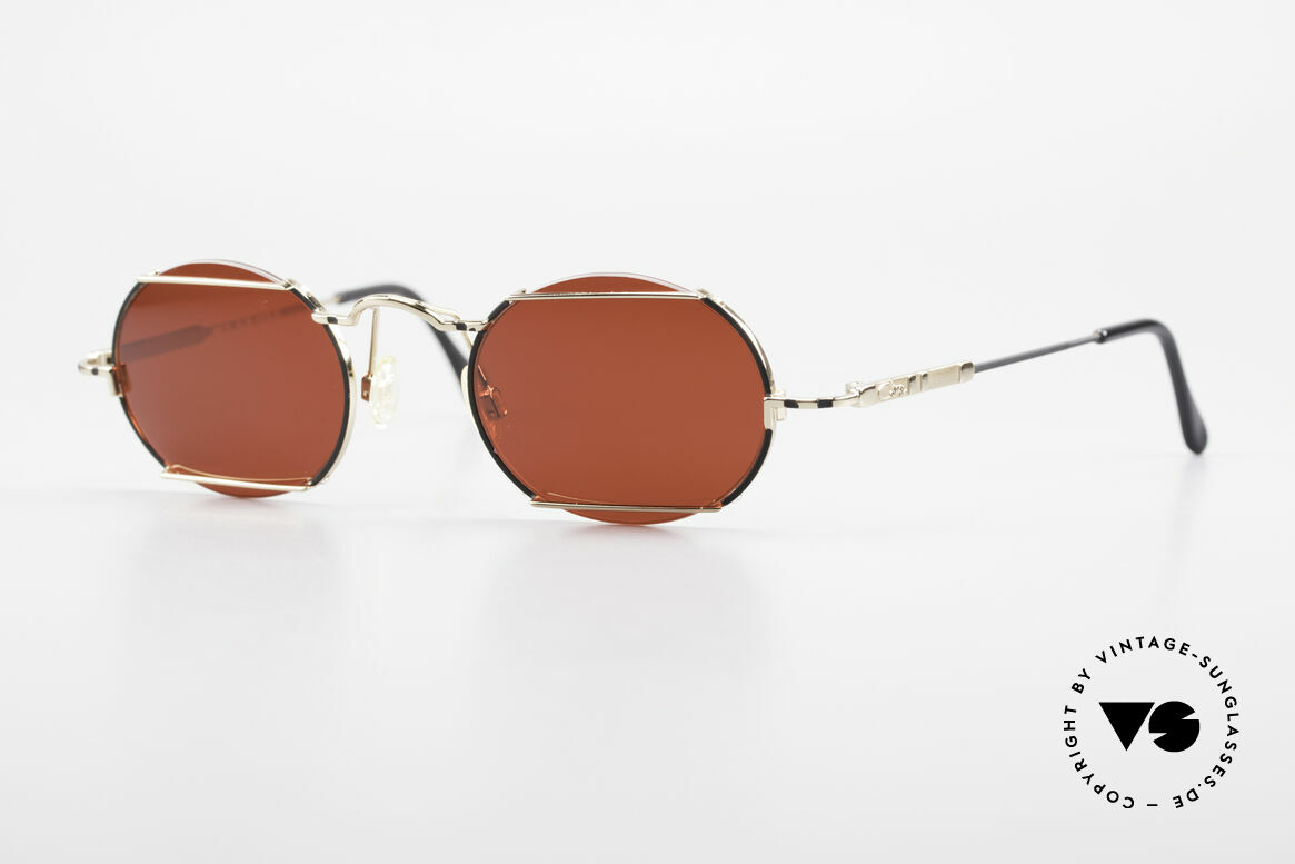 Cazal 781 Vintage Designer Sunglassses, oval vintage Cazal sunglasses from the 90's, Made for Men and Women