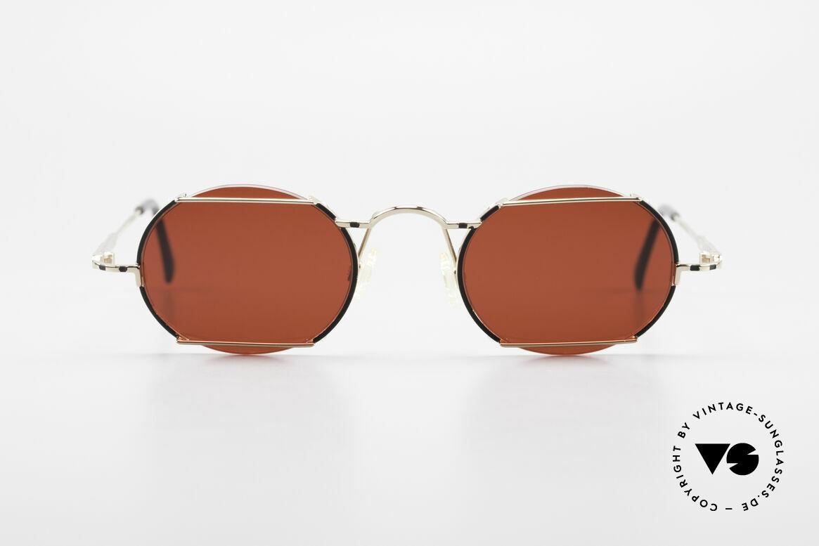 Cazal 781 Vintage Designer Sunglassses, interesting combination of lenses and frame, Made for Men and Women