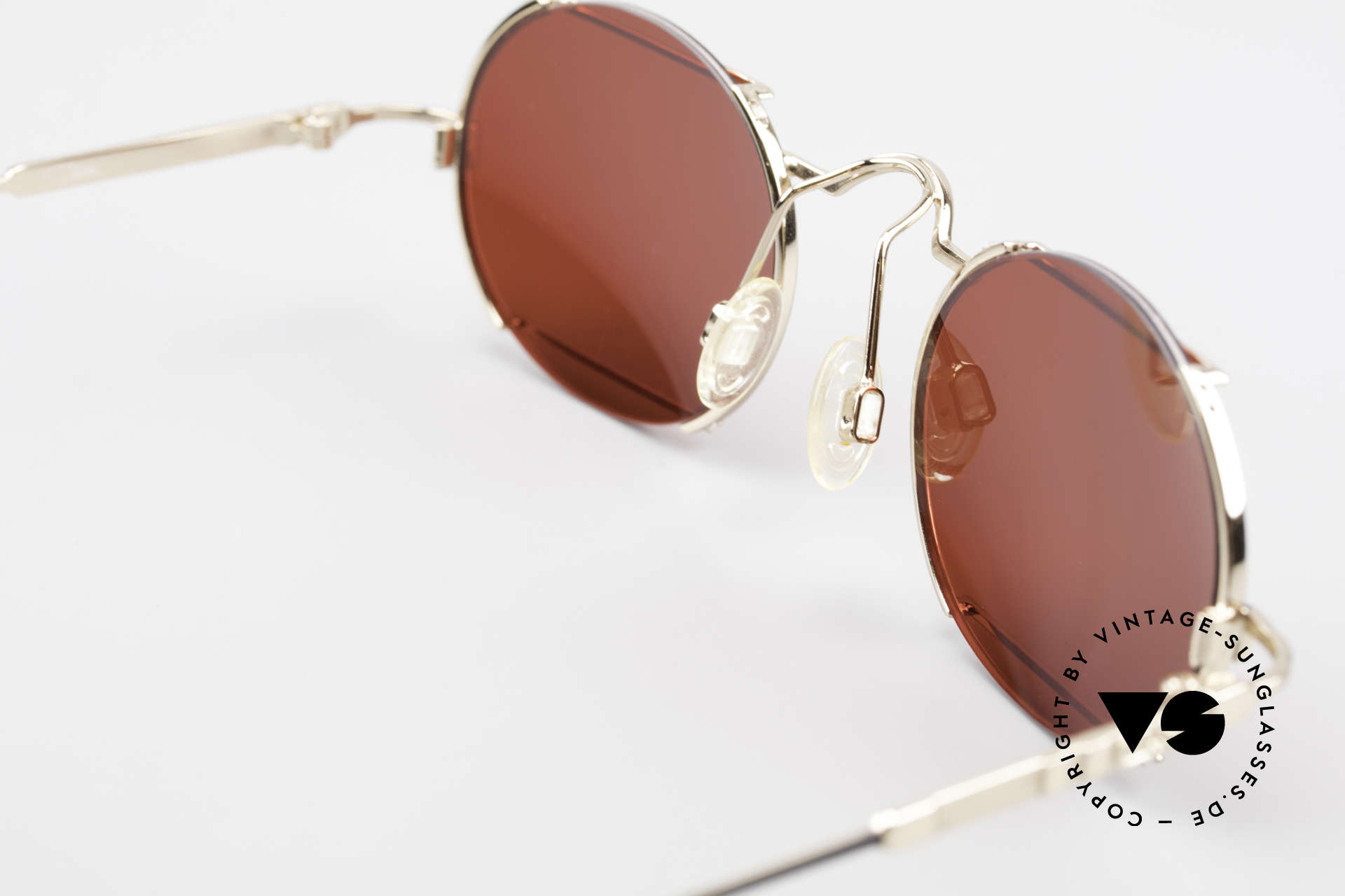 Cazal 781 Vintage Designer Sunglassses, gaudy 3D red lenses can be replaced optionally, Made for Men and Women