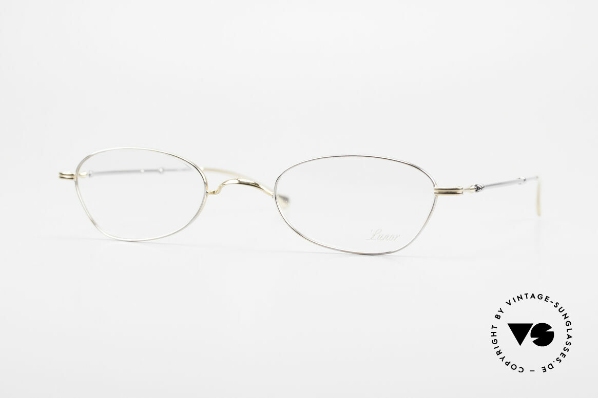 """Lunor - Telescopic Extendable Frame For Ladies, Lunor: shortcut for French """"Lunette d'Or"""" (gold glasses), Made for Women"""