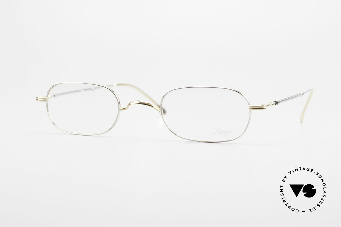 "Lunor - Telescopic Extendable Frame For Gents, Lunor: shortcut for French ""Lunette d'Or"" (gold glasses), Made for Men"