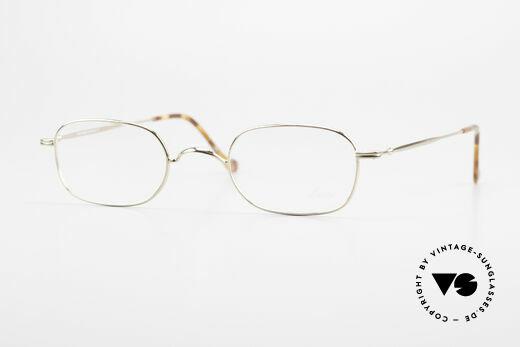 Lunor 322 Classic Vintage Eyeglasses 90s Details